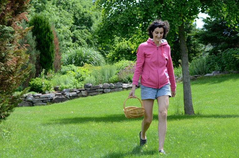 Herb gardener June 2014