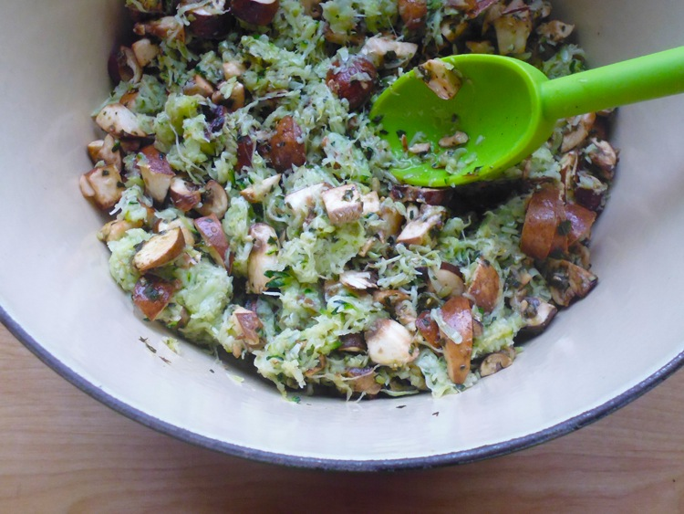 Zucchini Mushroom Spread