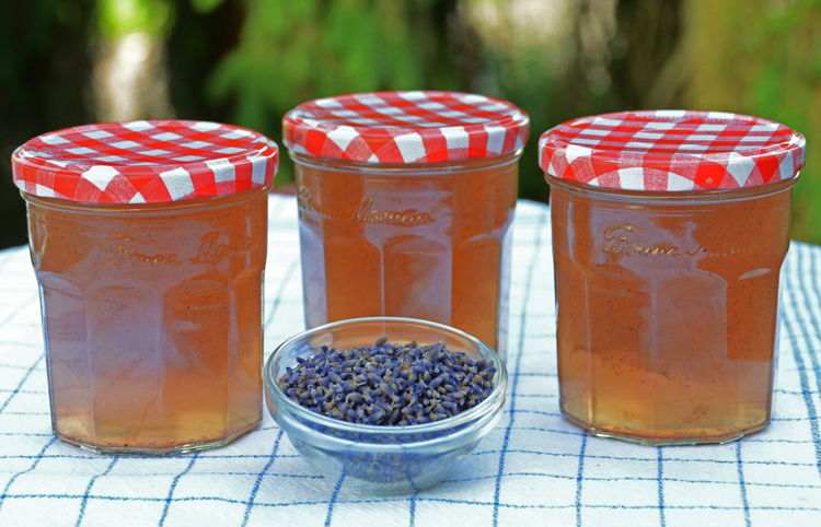White Wine Lavender Jelly