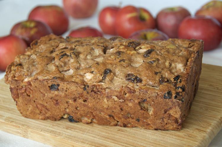 Apple Masala Bread