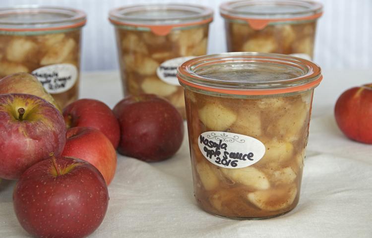 Masala Apple Sauce